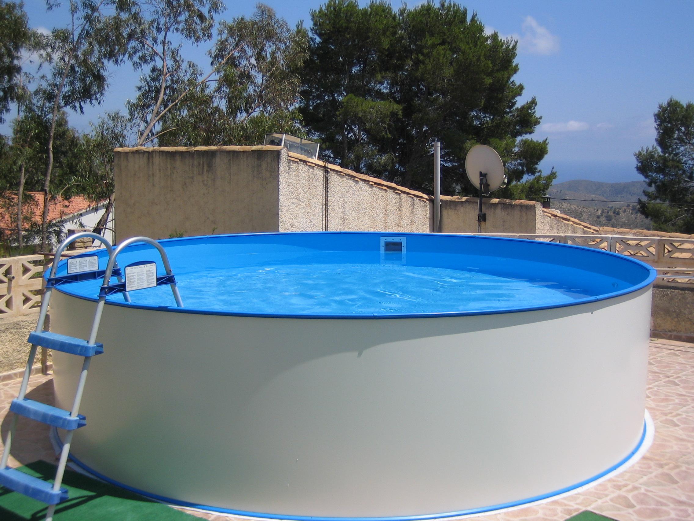 Clever premium paket rundpool 1 20m folie 0 8mm f r for Garten pool komplettset