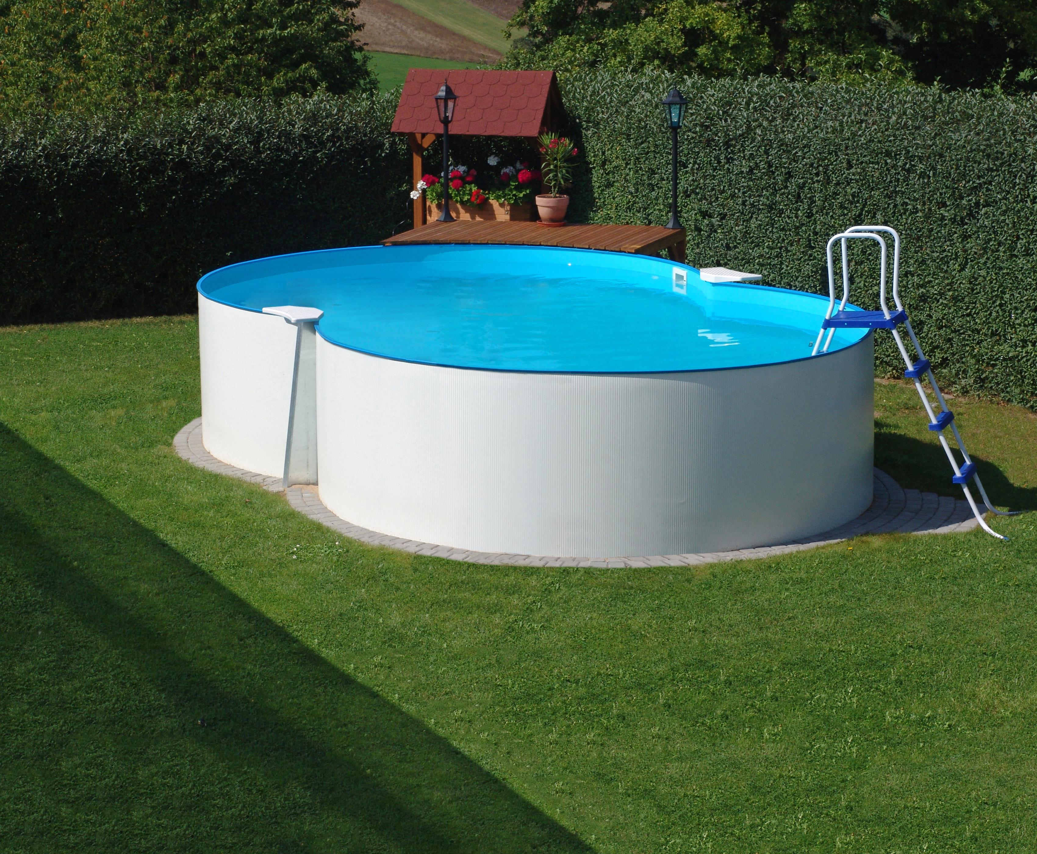 pool schwimmbecken achtform 1 20m tief f r schwimmbad und pool. Black Bedroom Furniture Sets. Home Design Ideas